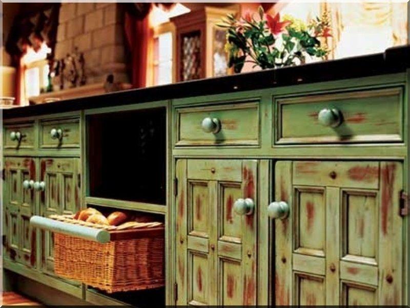Shabby chic, vintage konyha - Industrial loft furniture, Garden ...