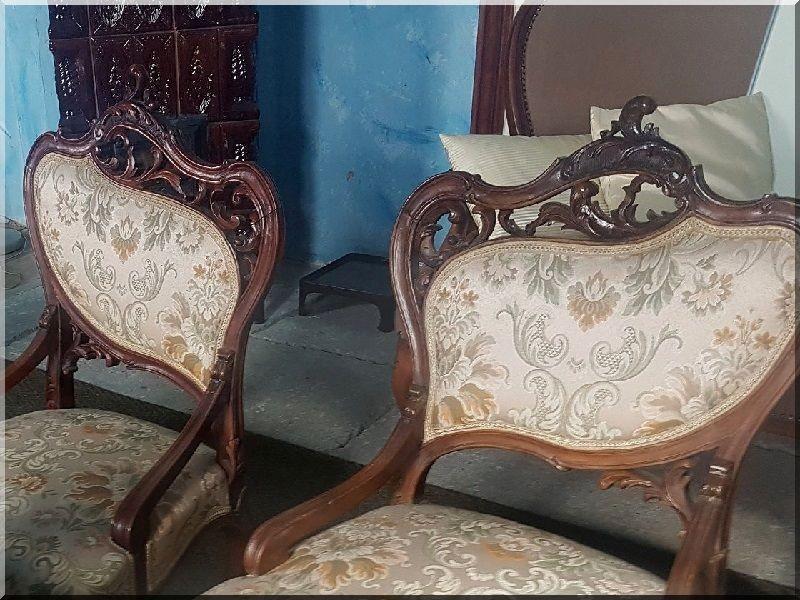 rokokó bútor, karfás szék