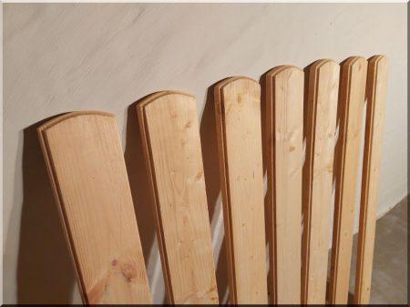 Fenyő kerítésdeszka -