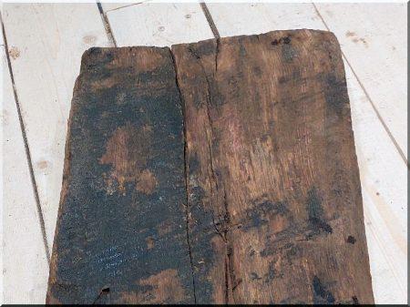 Antique oak beam
