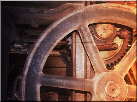 Industrial loft dekorációk