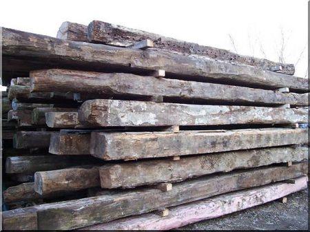 Dismantled beam, 15 x 15 cm