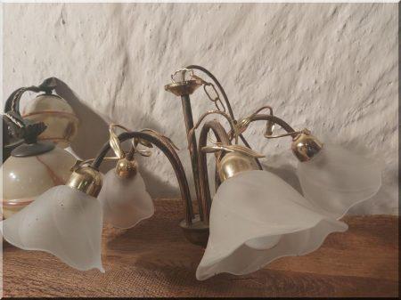 Five-armed chandelier