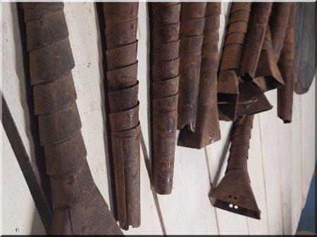Antik elemes lámpa