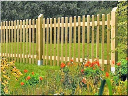 Zaunpfosten für Gartenzaun, 1, 6 m