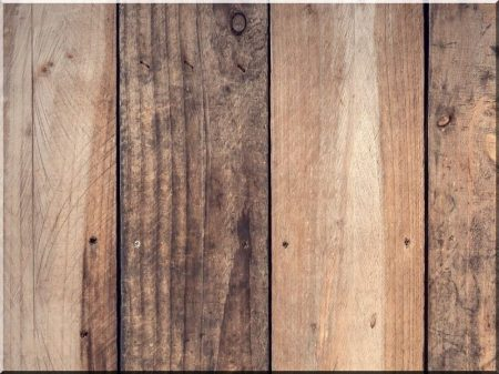 Plank wall covering