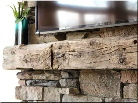 15 × 15 cm lumber