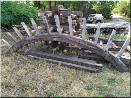 Mill wheel parts