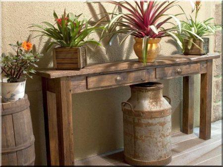 Rusztikus bútor -