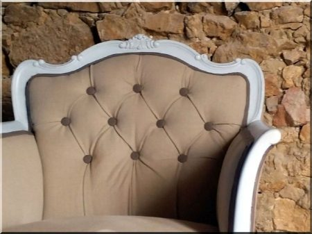Textile, shabby chic upholstery