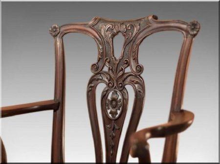 Chippendale stílusú bútorok -