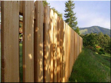 Fence plank