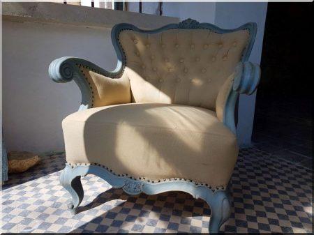 Fotel, neobarokk