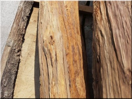 Öreg fa felülete -