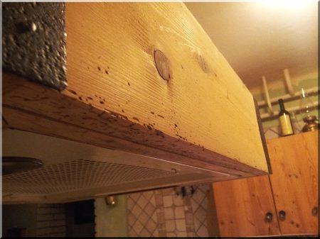 Decorative broken wood