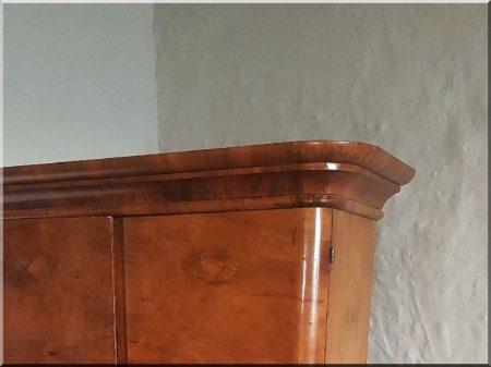 Large shelf cabinet, art deco