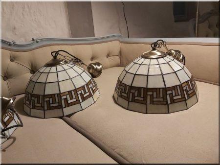 Tiffany mennyezeti lámpa -