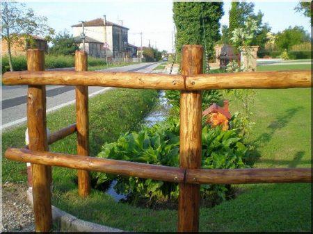 Rönk kerítés -