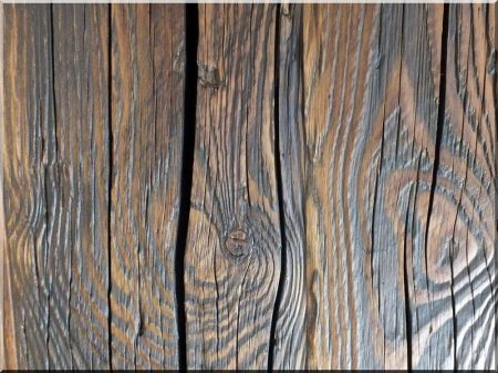Antique plank