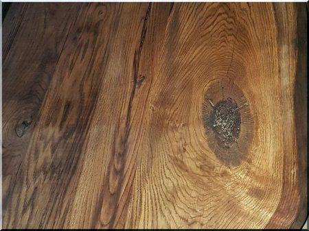 Rustic oak table tops