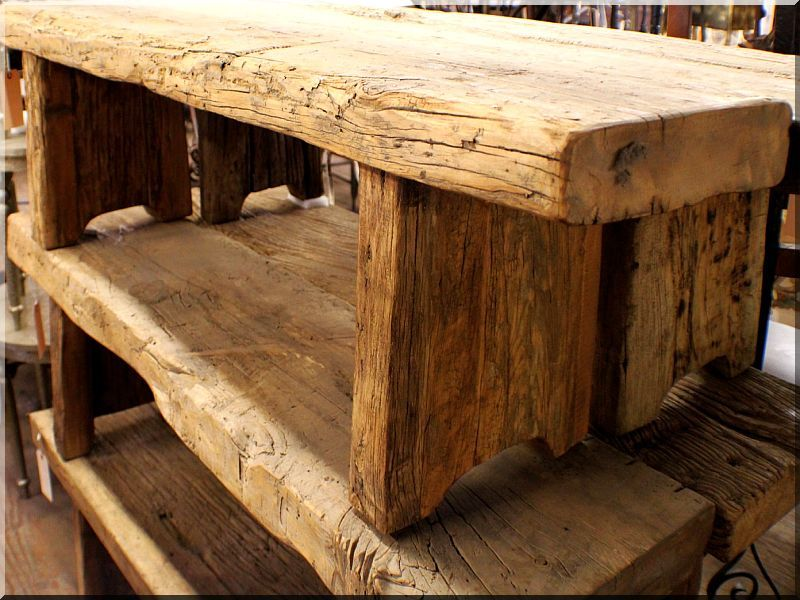 Antique wood ideas   industrial loft furniture, garden borders ...