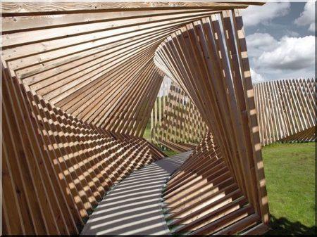 Exécution de travaux de l'industrie de bois