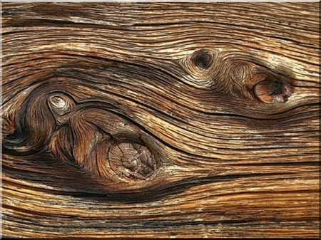 Holz, sandgestrahlt