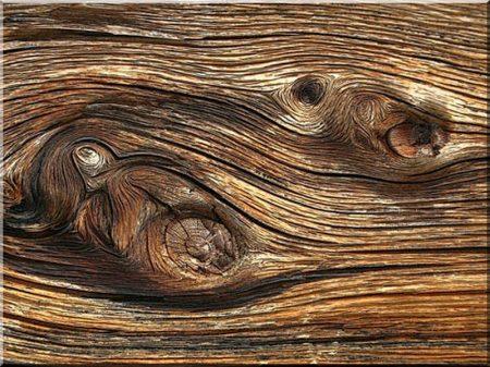 Sandstrahlen von Holz