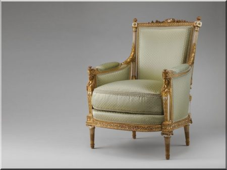Francia barokk bútorok -