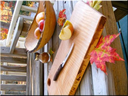 Cutting board from alder