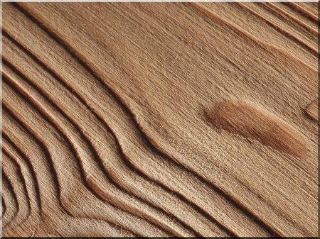 Planches de pin brossé