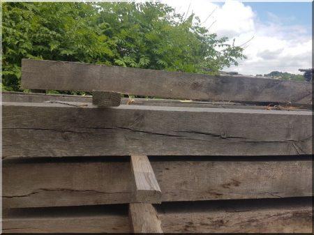 12 x 12 cm oak beam