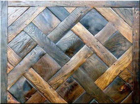 Parketta antik fából -