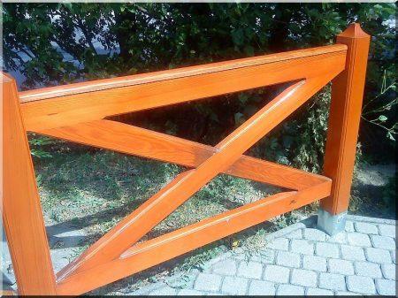 1,2 méteres fenyő kerítésoszlop -