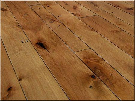 Oak floorboard