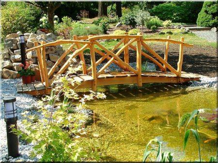Construction des ponts jardiniers