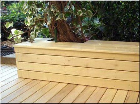 Planche de terrasse en acacia