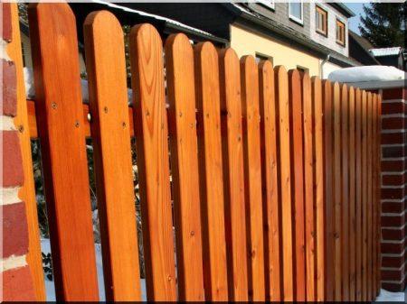 Pine fence element, 1,4 meter long