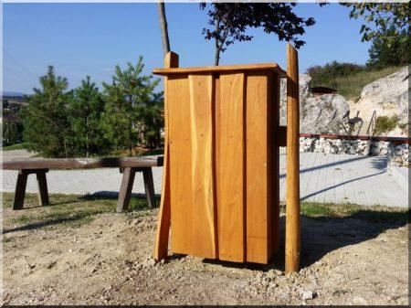 Müllbox, Schwenkbar, 82 Liter