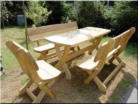 Akác kerti bútor -