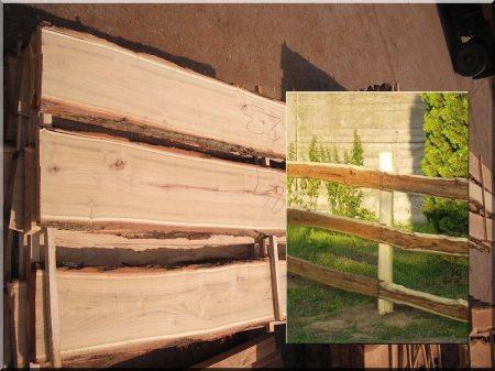 Sawn timber, wide