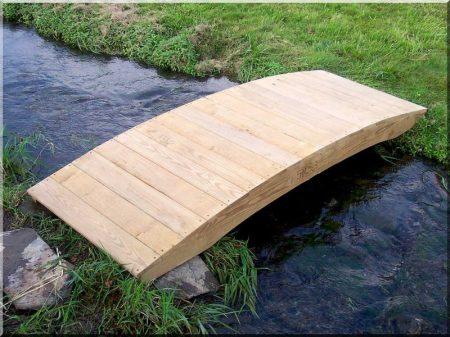Gartenbrücken aus Robinie