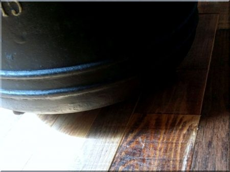 40 liter cast iron foot