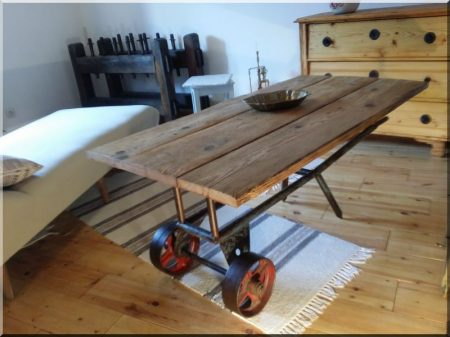 Loft asztal -