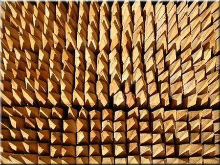 Acacia vineyard stake, 1,8 metres long, 5 x 5 cm