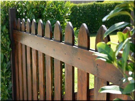 0,8 metre pine fence element