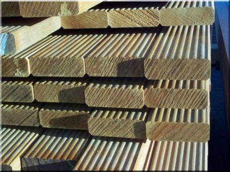 Terassenbelag aus Akazienholz, 21 mm