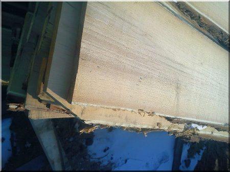 36 mm - es akác fa deszka (kertépítő) -