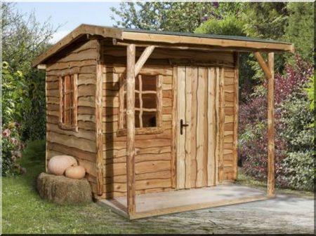 Kis kerti faház -