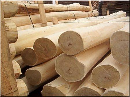 Acacia stake, sanded, 1,5 metres